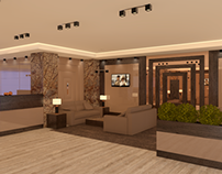 Receptie birouri Bucuresti design interior InsideStudio