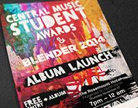 Poster - Ref: Blender Album Launch