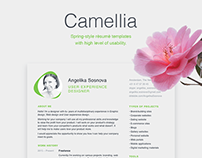 Free Resume Cover letter Psd Templates