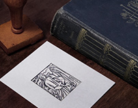 Ink and paper. ExLibris