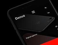 Decus. Digital agency