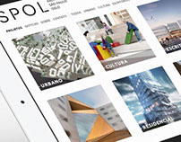 SPOL Architects Responsive Website