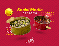 Al-Halwachi Qatar | Social Media Designs