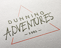 Dunning Adventures // Logo Design