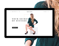 Xelana Women's Secret | Landing Page