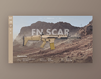 Weapons Website Concept