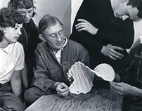 Josef Albers with Students