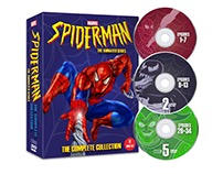 Spider-Man™ DVD Box Set Mock-Up