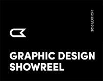 Graphic Design Showreel, 2018