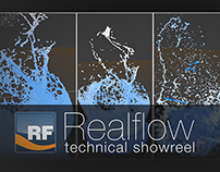 Realflow Technical Showreel 2014