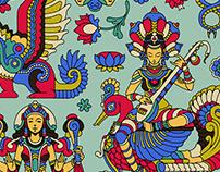 Hindu pattern /Onthatass