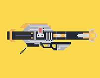 Destiny - Pixel Art Weapons