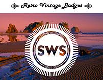 Retro / Vintage Badges