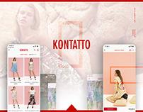 Kontatto - UX, UI & Mobile DEV
