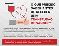 Transfusão de Sangue • Filipeta informativo