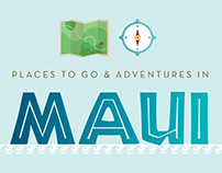 Maui, Hawaii Infographic