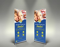 Dental Clinic Signage Template