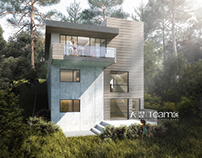 Architectural 3D render - Residential project