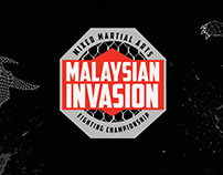 BRANDING - MALAYSIAN INVASION: MIXED MARTIAL ARTS