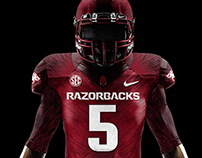 "Arkansas Razorbacks ""Wild Hog"" Concept Uniform"