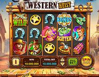 slot machine Western Heist