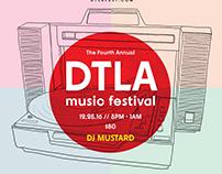 DTLA Festival mockup