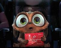 Cineworld gift card advert