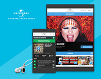 Universal Music Group - Mobile Portal