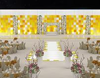 Wedding Stage design