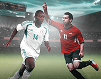 Egypt vs Nigeria - Poster