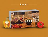 Taco Holders Packaging Design