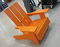 "Adirondack chair ""Así de fácil"""