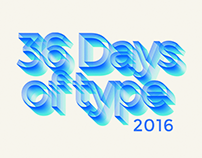 36 days of type - 2016