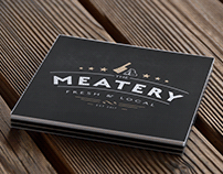 The Meatery Logo Design