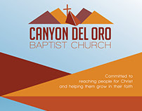 Canyon Del Oro Baptist Church Logo Design
