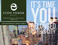 Eton Tower Makati - Roll Up Banner