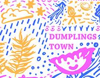 搞餃鎮概念包裝設計-dumpings town packaging