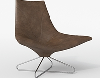 Leather Lounge Chair CL01
