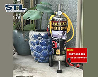 Ban binh bot tuyet rua xe Pallas 25L chinh hang