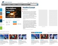 nam.org Website Redesign - Style Tiles