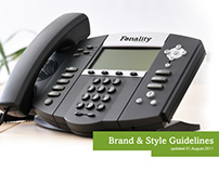 Fonality Brand & Style Guide