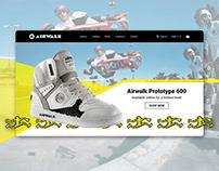 New Hero Design for Airwalk