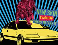 CRX Album Release Poster