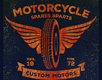MOTOR WORK WEAR T-SHIRT GRAPHICS