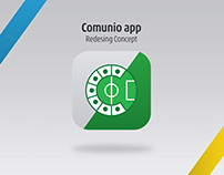 Comunio app- Redesign concept