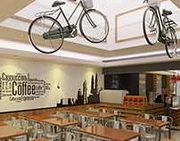 Proposed New Interior Cafe at Bayswater, London