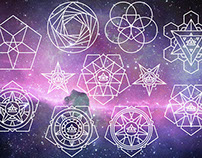 Sacred Geometry Vector Pack 9