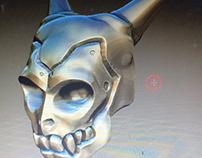 Skull Face - Zbrush