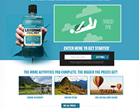 Listerine - Bold Percent Promotion Website and Video