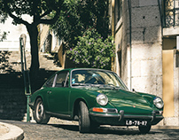 Porsche 911 in Lisbon